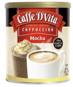 New packaging, same great Caffe D'Vita mocha cappuccino