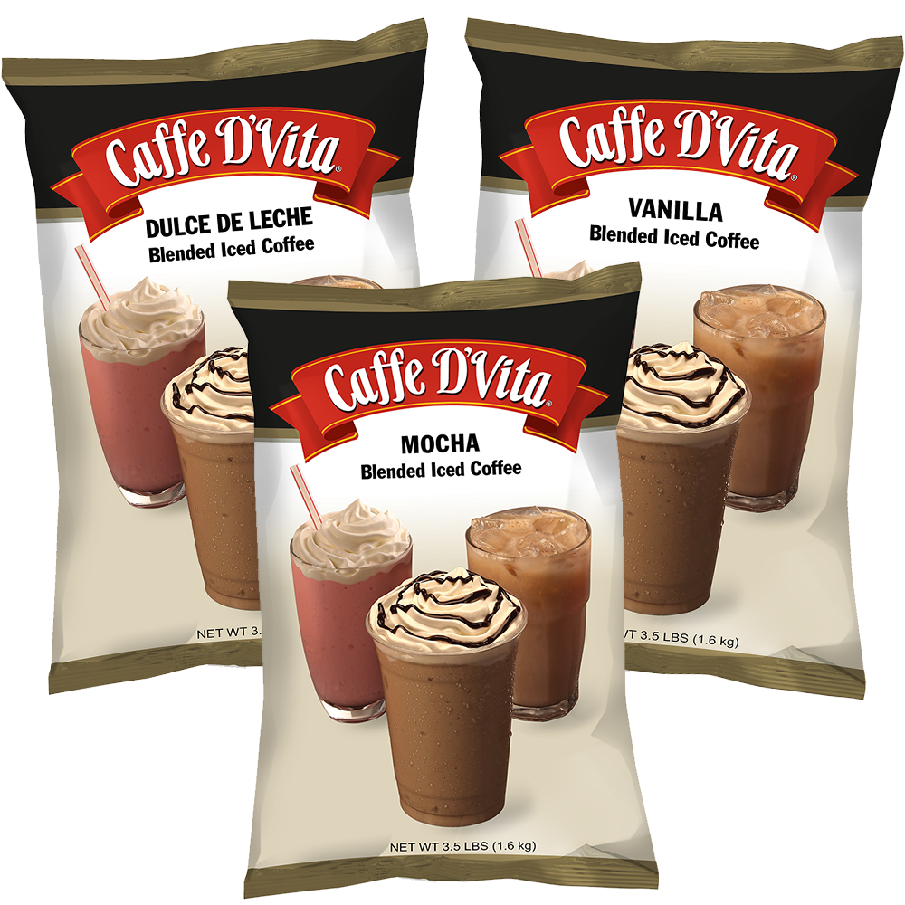 Blended Iced Coffee Perfect Frappe Every Time - Caffe D'Vita